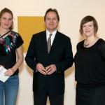 From Left: Hildur, Hlynur Gudjonsson (Consulate General of Iceland, New York), Birta