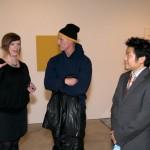 Birta and Shinya with Matthew Barney